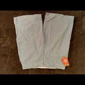 NWT Dockers Blue Checker Shorts